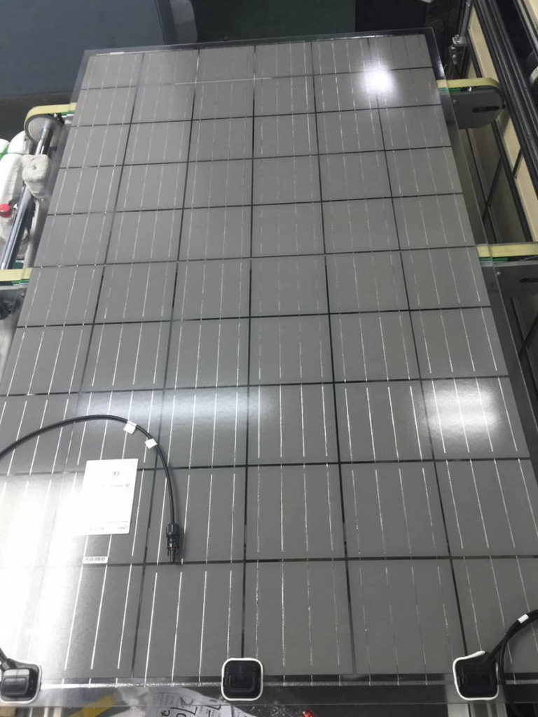Neosun Energy Developed A New Product Double Glass Solar