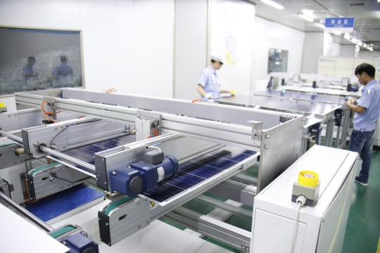 neosun energy factory solar panels