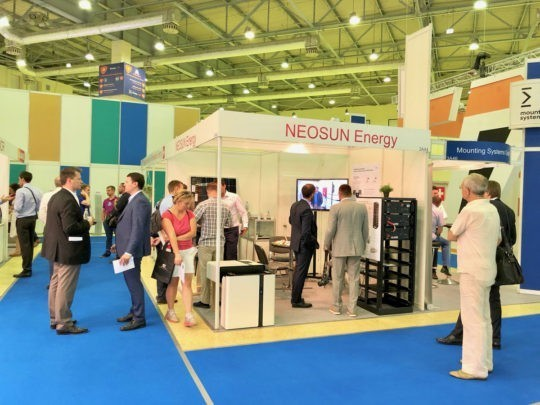 NEOSUN Energy participated in RENWEX 2019 Exhibition in Moscow