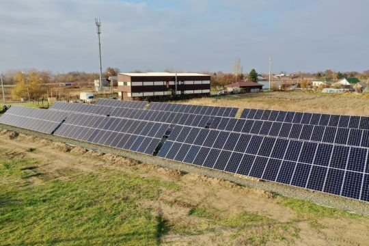 Neosun Energy solar power station 117kW