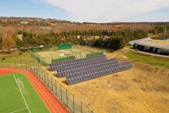 neosun solar power station 102kw