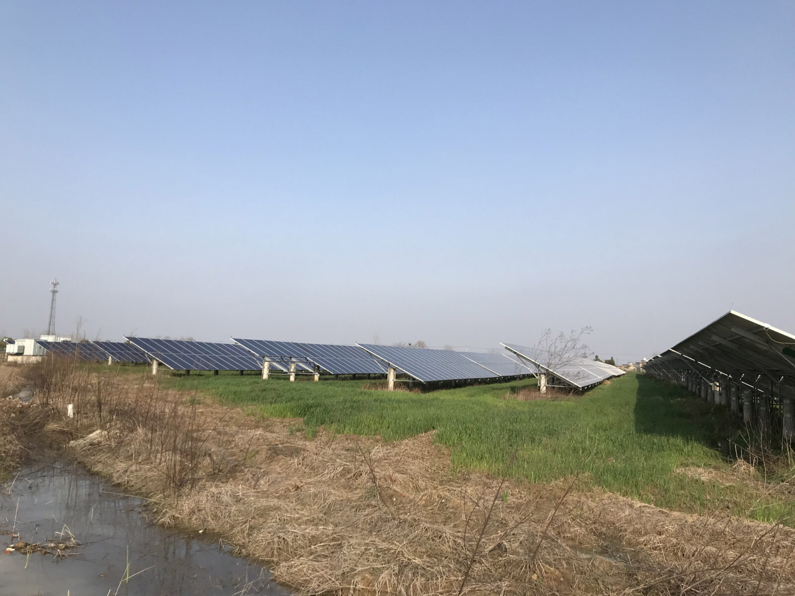 On-grid Local PV Plant for local utility power supply