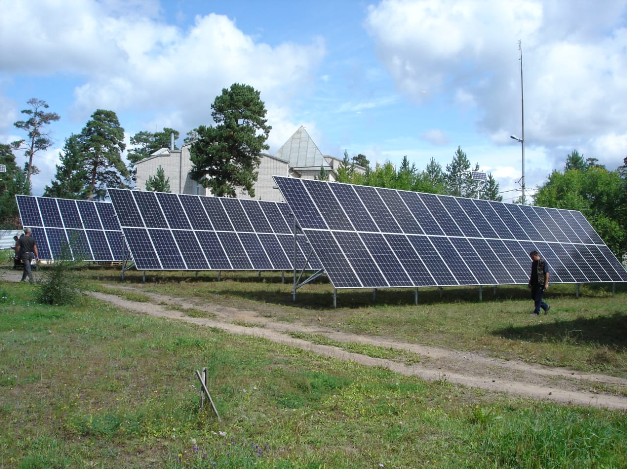 """On-grid Commercial PV Plant for the trade and warehouse complex """"Chitaglavsnab"""""""