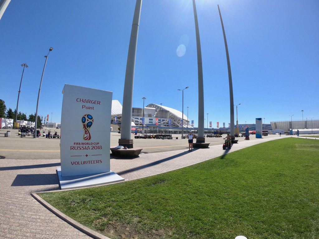 NEOSUN has realized an autonomous charging station for 2018 FIFA World Cup in Russia